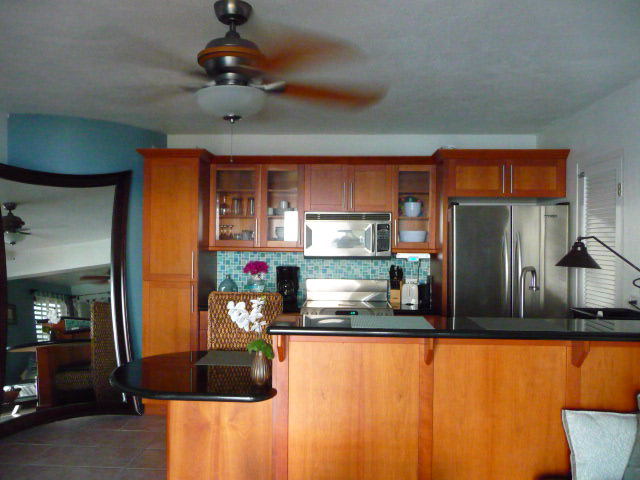 Fully furnished modern kitchen